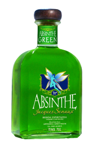 The full bottle of original absinthe which could be considered as an aphrodisiac