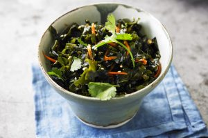 Seaweed in a complex and delicious recipe
