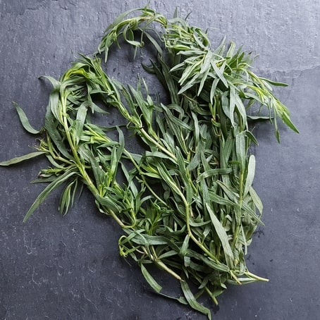 small volume of tarragon on table